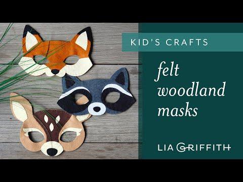 How to Make an Felt Animal Mask