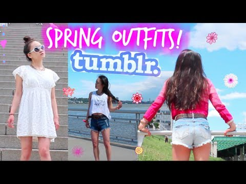 TUMBLR Spring Outfits 2018