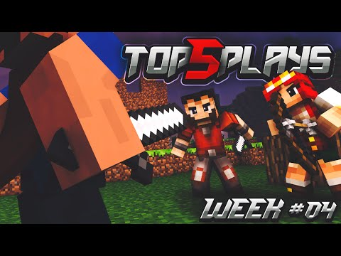 Minecraft PvP - Top 5 Plays of the Week #4