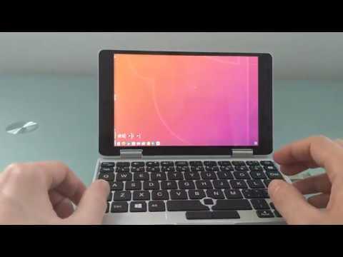 One Mix Yoga mini PC running Ubuntu 18.04