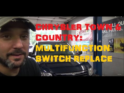 Grand Caravan / Town & Country Turn Signal Switch - Remove and Replace