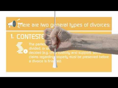 Contested v. Uncontested Divorce in Charlotte Mecklenburg, NC