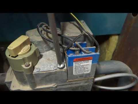 gas boiler no heat pilot out