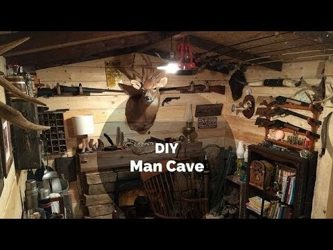 This Guy Built The Coolest Man Cave For Only $107. You'd Think He Spent Thousands!