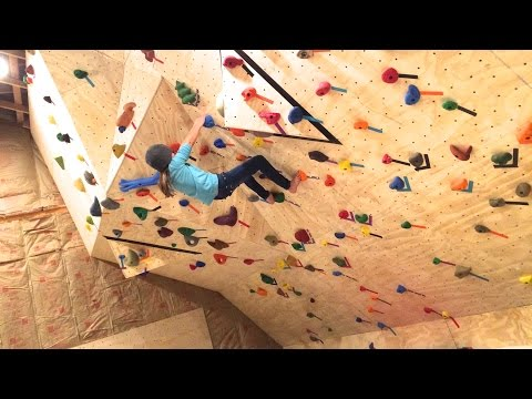 How To Install T-Nuts On A Home Rock Climbing Wall; T-Nut Spacing, T-Nut Pattern, T-Nut Type