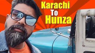 Karachi To Hunza with Mubeen | Part-1 | Northern Trip | Bekaar Vlogs