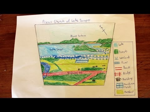 How to draw a Precis Sketch from a photograph