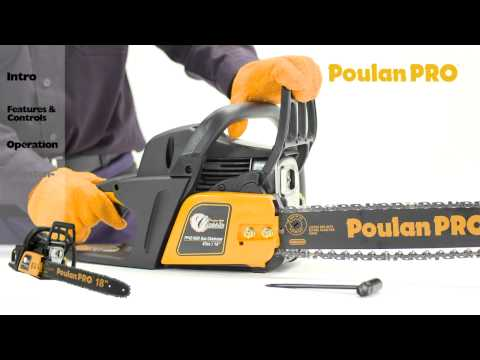 Poulan Pro - Chainsaw Maintenance