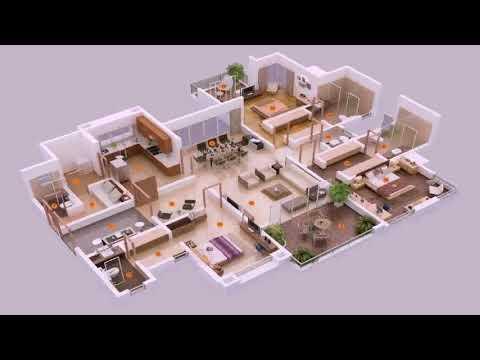 Free 3 Bedroom Duplex House Plans