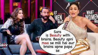 Kareena Kapoor Openly Shows LOVE & Respect for Sara Ali Khan In Public