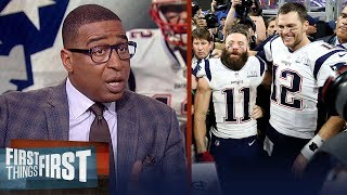 Cris Carter lists reasons why the Patriots continue Super Bowl success | NFL | FIRST THINGS FIRST