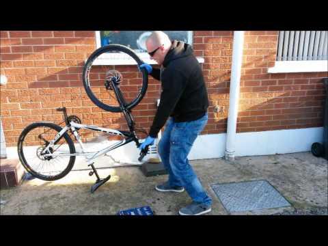 Fixing Sticking Disc Brakes on Mountain Bike - Misaligned Caliper