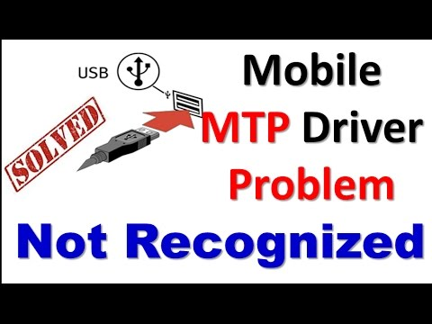How To Fix (MTP PROBLEM)USB Ports Not Recognized (Windows 10, 8.1, 8, 7 and Vista) / Laptop & PC✔