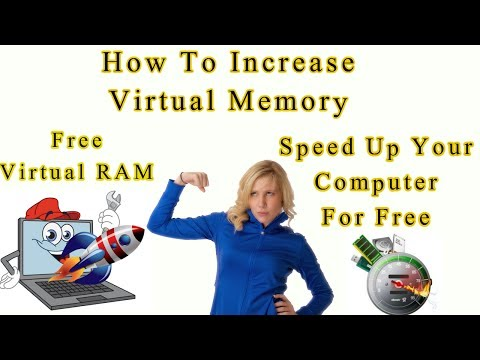 How To Increase Virtual Memory (RAM) In All WIndows