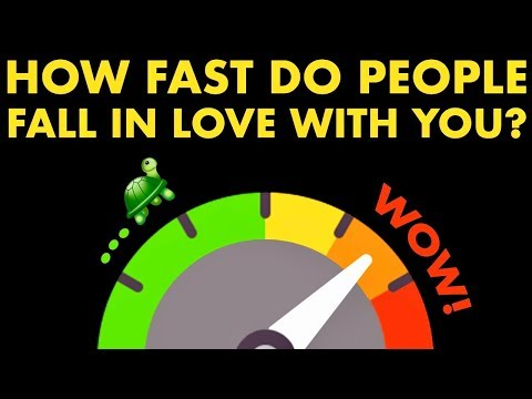HOW FAST DO PEOPLE FALL IN LOVE WITH YOU? Love Personality Test