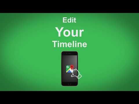 Google Maps   Edit Your Timeline