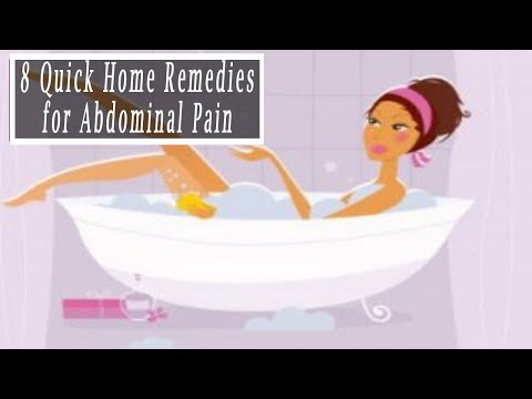 Lower Abdominal Pain Home Remedies | 8 Quick Home Remedies for Abdominal Pain