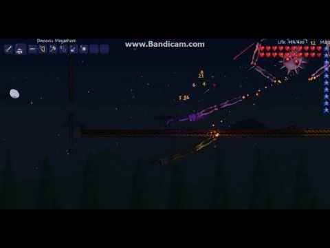 Terraria-How to summon and kill skeletron prime