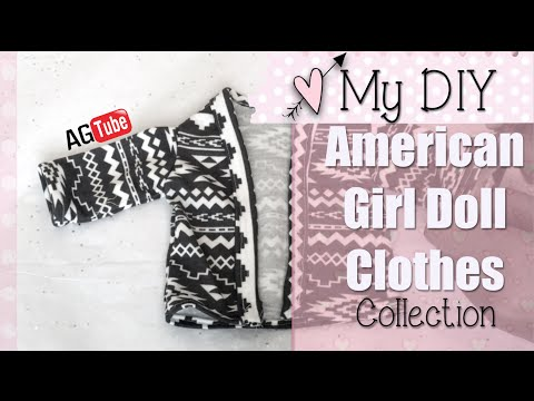 My DIY American Girl Doll Clothes Collection! FAILS INCLUDED !