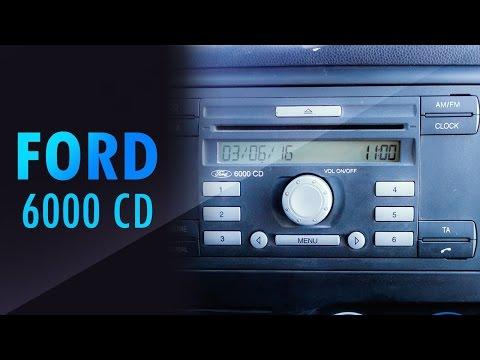 Ford cd 6000 unlock