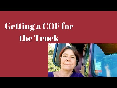 RV/ Truck Life and the 6 Monthly Mission. Certificate Time