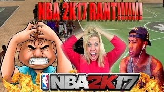 HUGE NBA 2K17 RANT!   THOUGHTS ON COMMUNITY TEAM-UP   REASONS WHY THEY DIDN'T CHOOSE PRETTYBOYFREDO