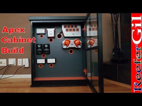 Build Series| Eps. 9| Neptune Systems Apex Cabinet: Saltwater Aquarium