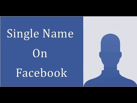 How to make single name on facebook with your mobile phone ||by technical Teacher