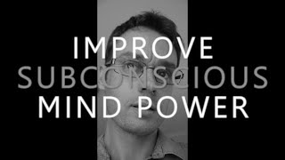 Hypnosis For Improving Subconscious Mind Power Memory Focus Study Lea