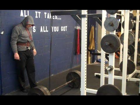 Build Leg and Upper Back Muscle (Deadlift Training)