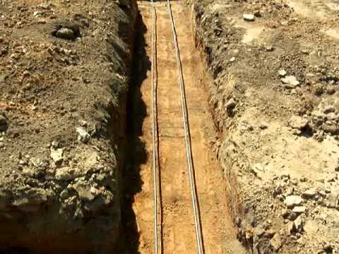 Project 2063.  Footings are dug and rebar is installed.