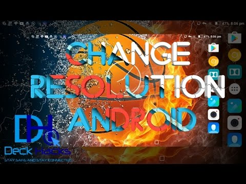 Change screen resolution on ANDROID Phone as PC !!! for free 👍 adjust DPI