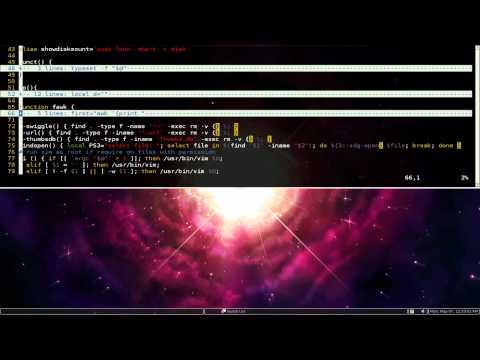 Vim Folding - Linux VIM