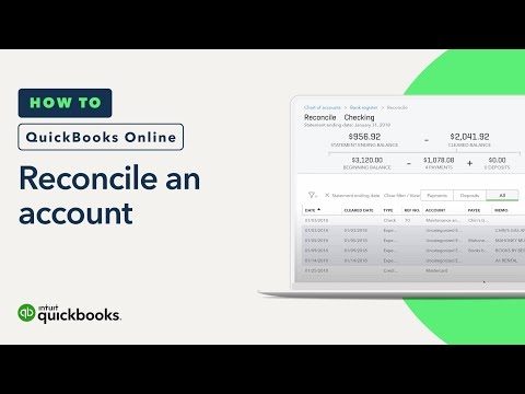 How to Reconcile an Account: Statements & Records, Reports, & More   QuickBooks Online Tutorial 2018
