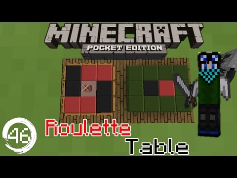 MCPE 15.0+ Redstone Tutorial: How to build a Roulette Table