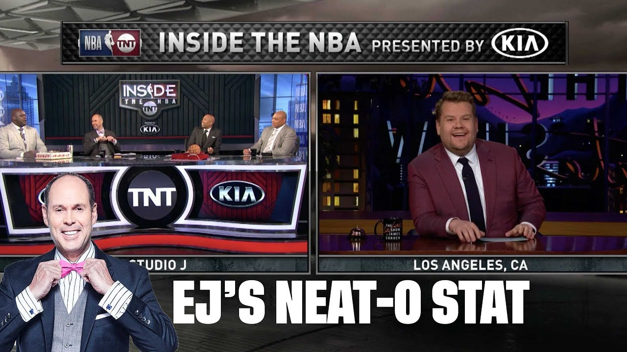 James Corden's Musical Edition of 'Who He Play For?' | EJ's Nea-O Stat of the Night