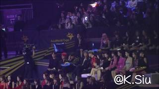 [fancam] 181214 2018 Mama Bts Sunmi Twice Reaction To Iz*one Performance Cut