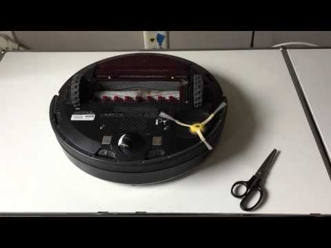 How to clean the Roomba 880