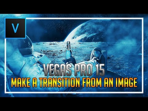 How To Make a Transition From Images in Vegas Pro 15
