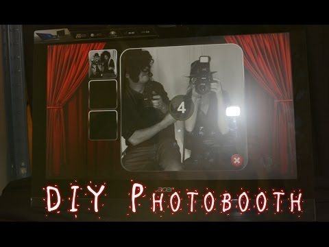 DIY PHOTO BOOTH. Wedding photo booth, party photobooth, HOW TO BUILD A PHOTO BOOTH