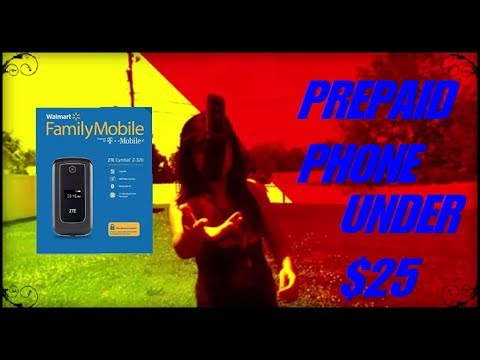PREPAID PHONE THE PROS AND CONS REVIEW AND DEMO under $25