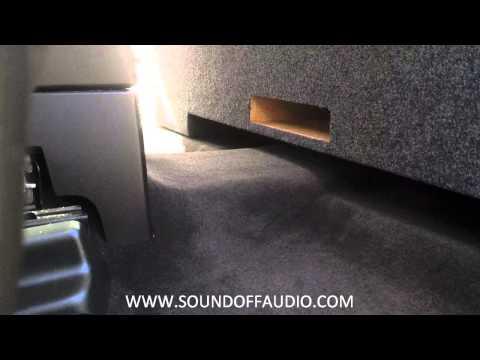 Chevy/GMC Crew Cab Vented box. 2007-2013 by Soundoffaudio.com