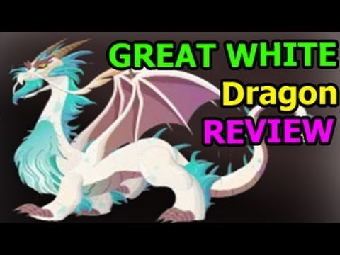 GREAT WHITE DRAGON Dragon City Egg and Level Up 10 Deus Vault Formula