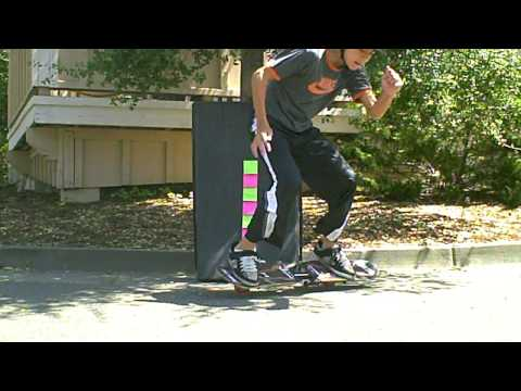 How to Ollie 21 inches on a Caster Board (Ripstik, Wave Board, Timberwolf XtreeM) Tutorial