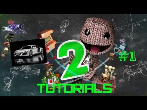 Little Big Planet 2 - How to make a basic car - Part 1