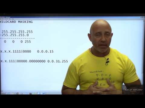 CCNA Training Part 48 Wildcard masking
