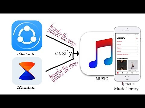 How to Easily Transfer SHAREit/Xender Music to iPhone to Music Library