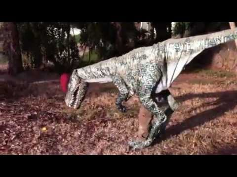 Incredibly Realistic Dinosaur Costume