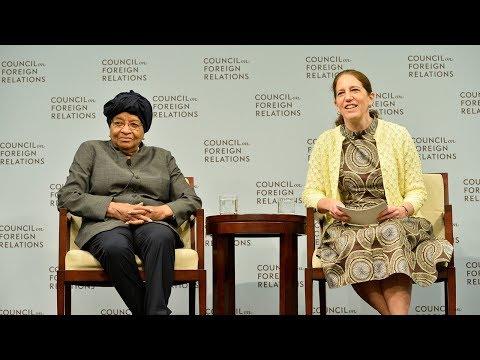 Darryl G. Behrman Lecture on Africa Policy With Ellen Johnson Sirleaf