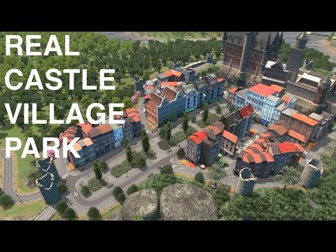 Can people live inside a theme park | Cities:Skylines
